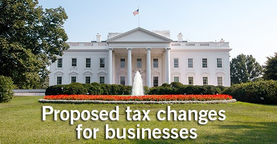 President Donald Trump tax plan for business. . .